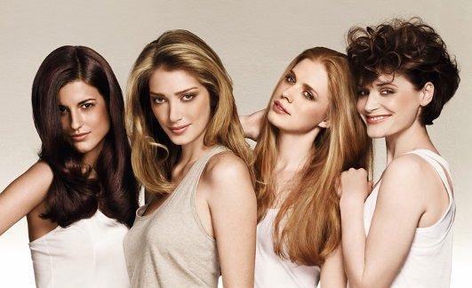 Как определить тип волос. 4 типа волос.
