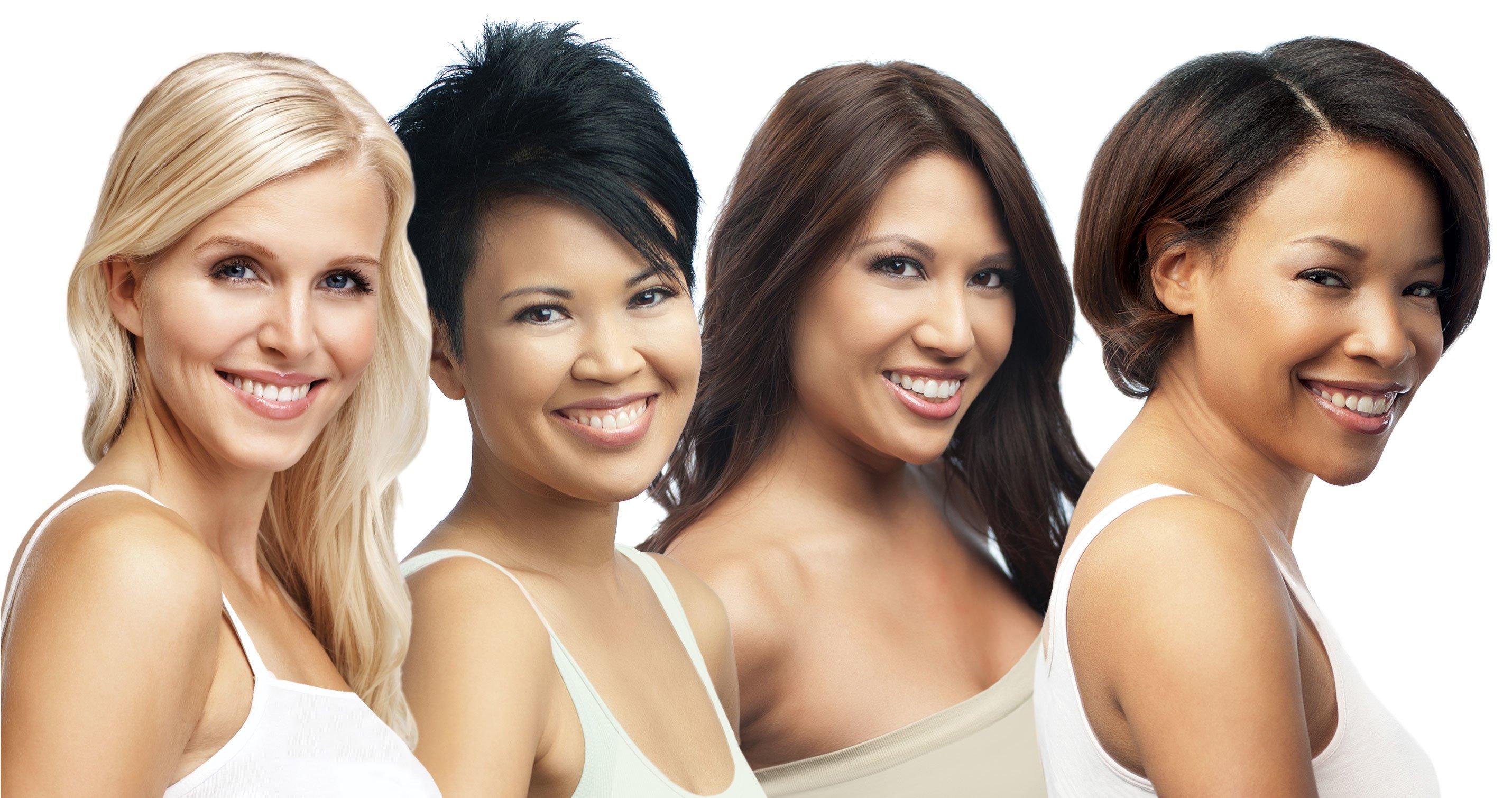 Типы кожи лица. Как определить тип кожи лица