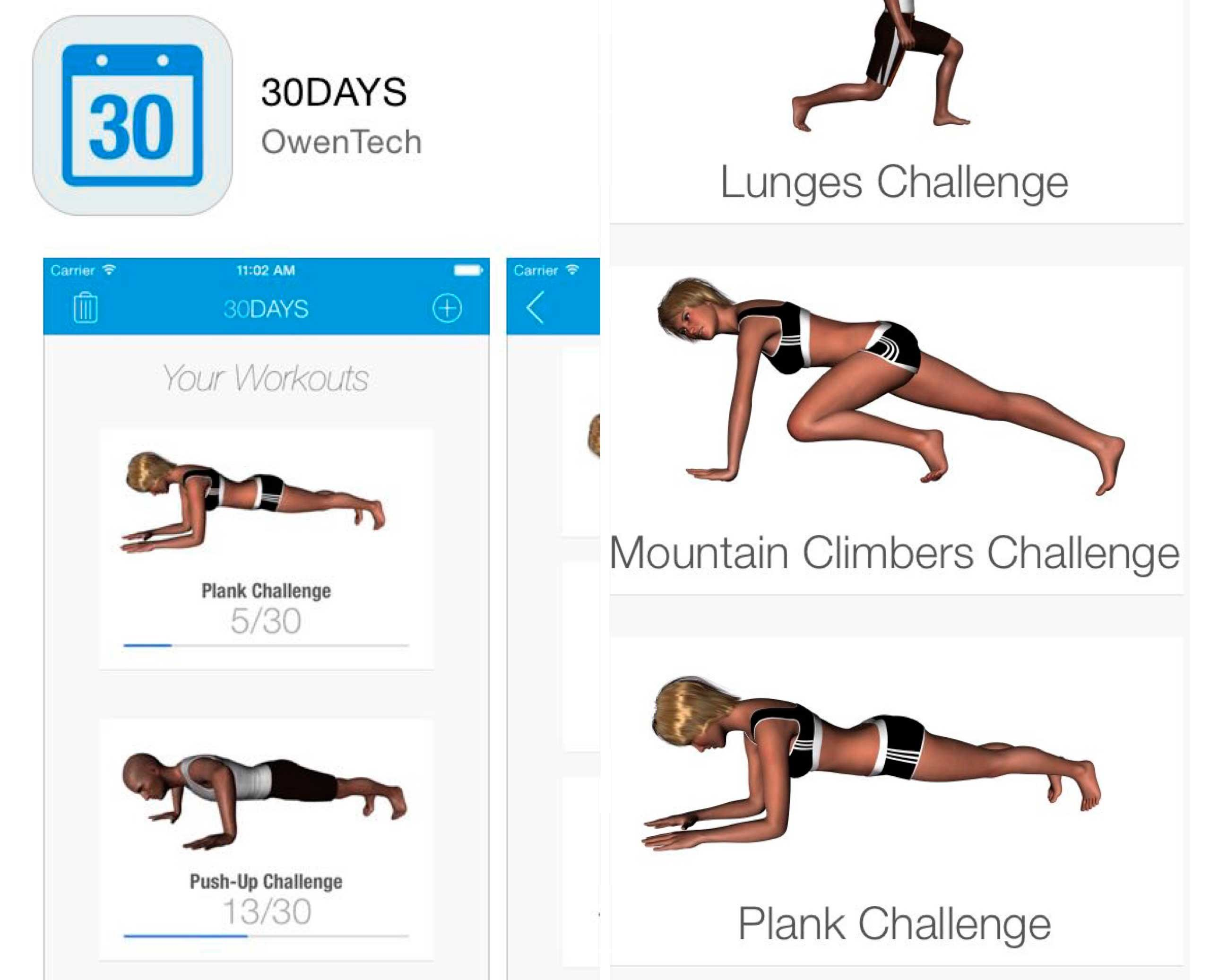 Упражнение планка - это ваш идеальный пресс.
