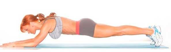 Упражнение планка фото