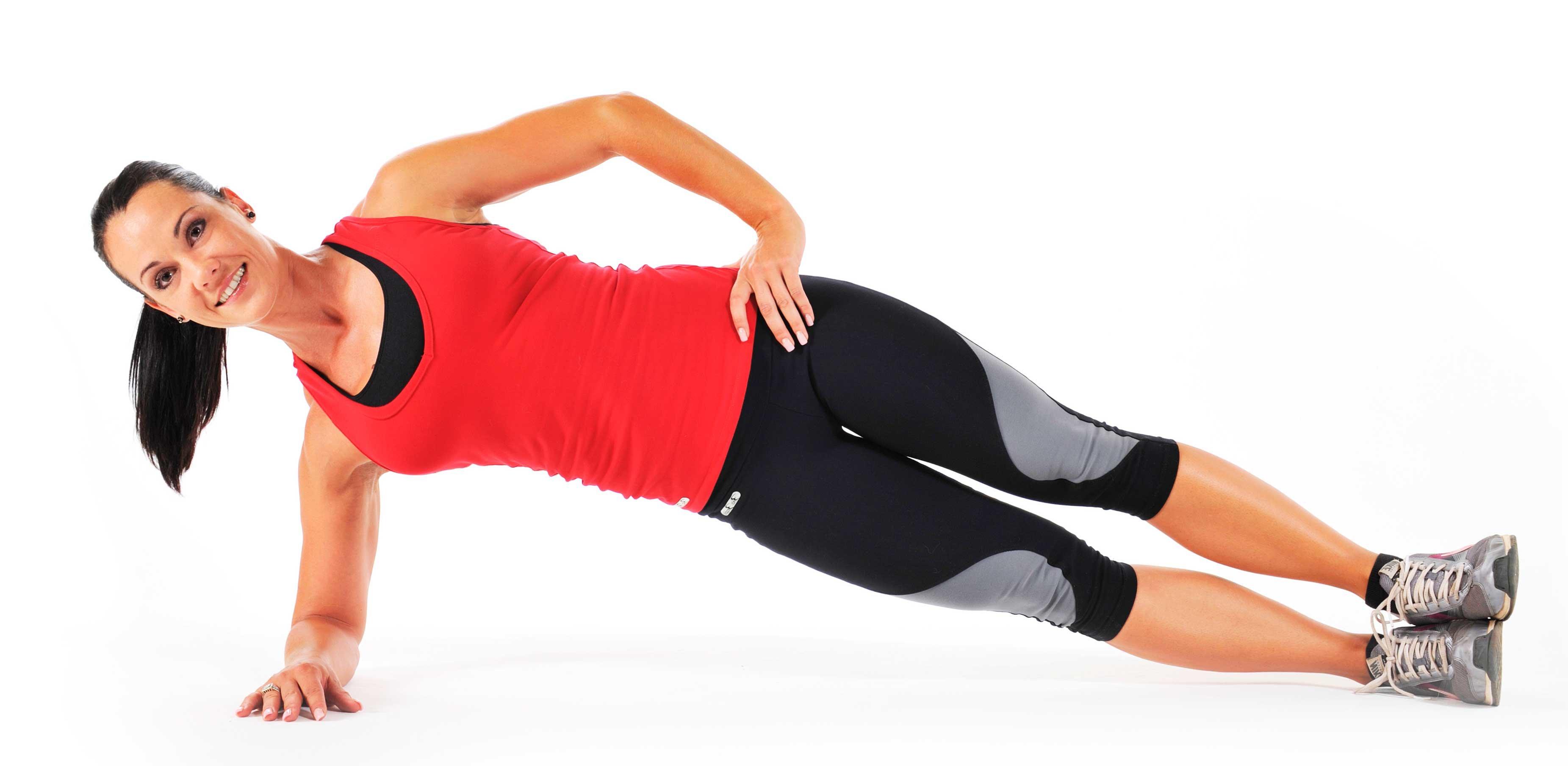 Упражнение боковая планка фото