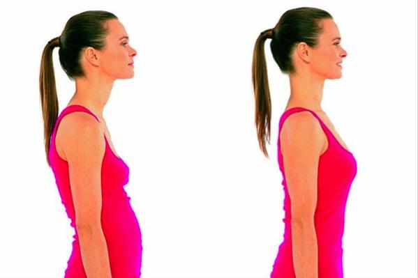 Прямая осанка - залог вашей привлекательности. Упражнения для правильной осанки.
