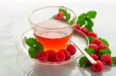 Чай из листьев малины и его польза для здоровья