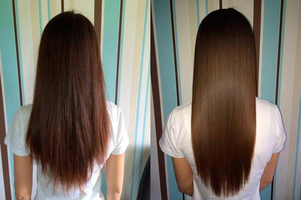 Глазирование волос в домашних условиях и в салоне, фото до и после