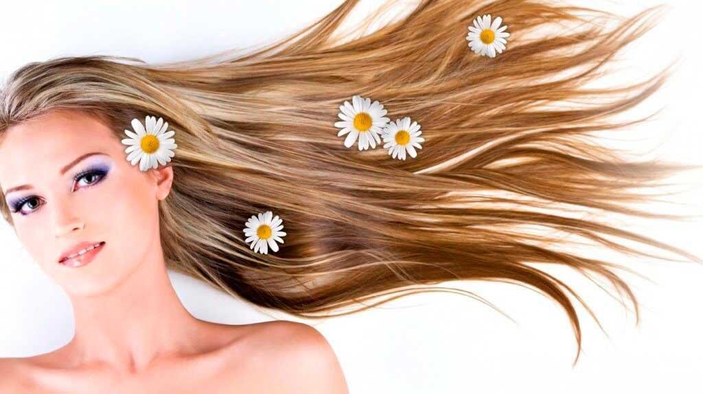 Правильный уход за мелированными волосами