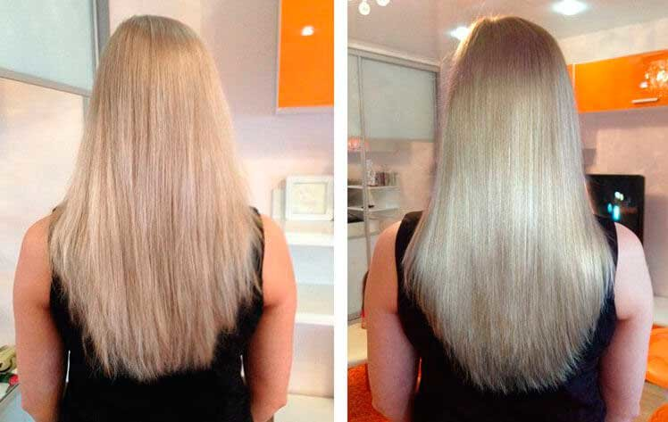 Экранирование волос в домашних условиях и в салоне, отзывы и фото