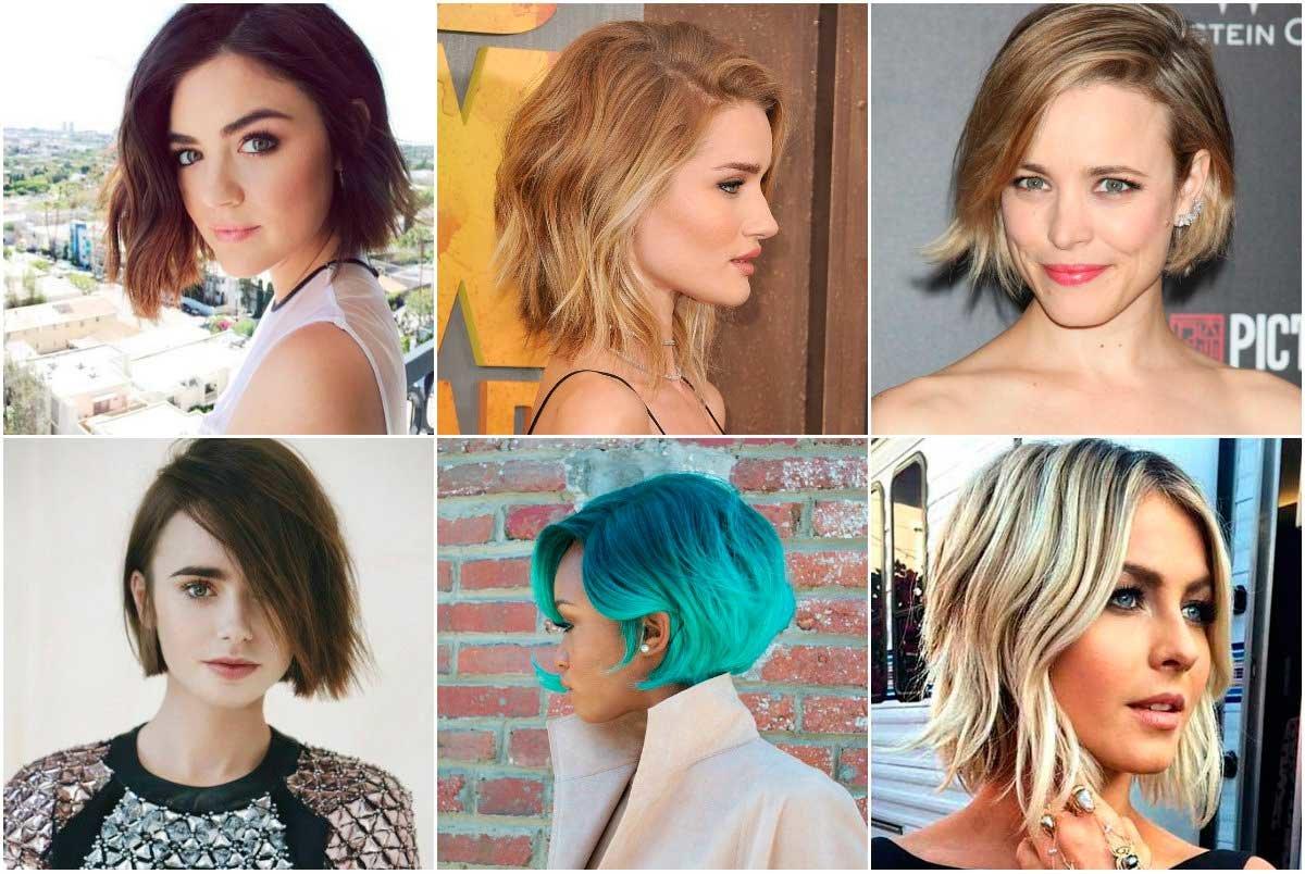 Виды стрижек женских на средние волосы