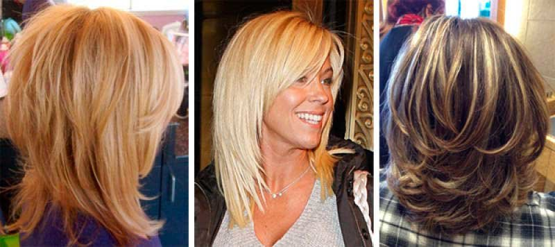 Виды модных женских стрижек на средние волосы, фото и видео