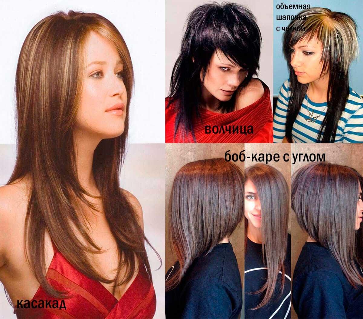 Стрижки для тонких волос чтобы был объем